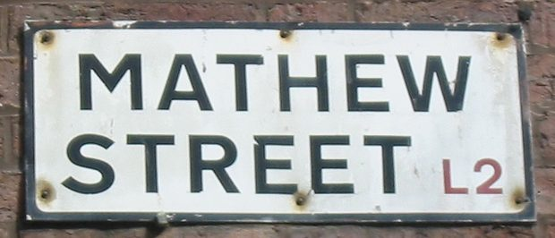 Liverpool Mathew Street